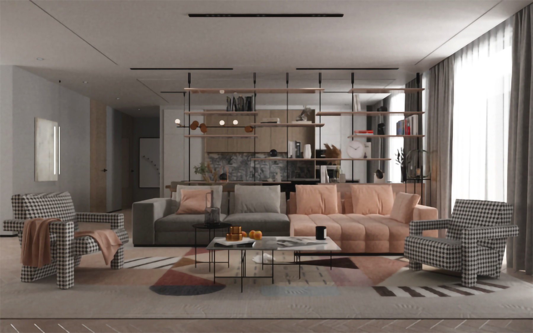 ISGMD - interior design render 3D progetto interni