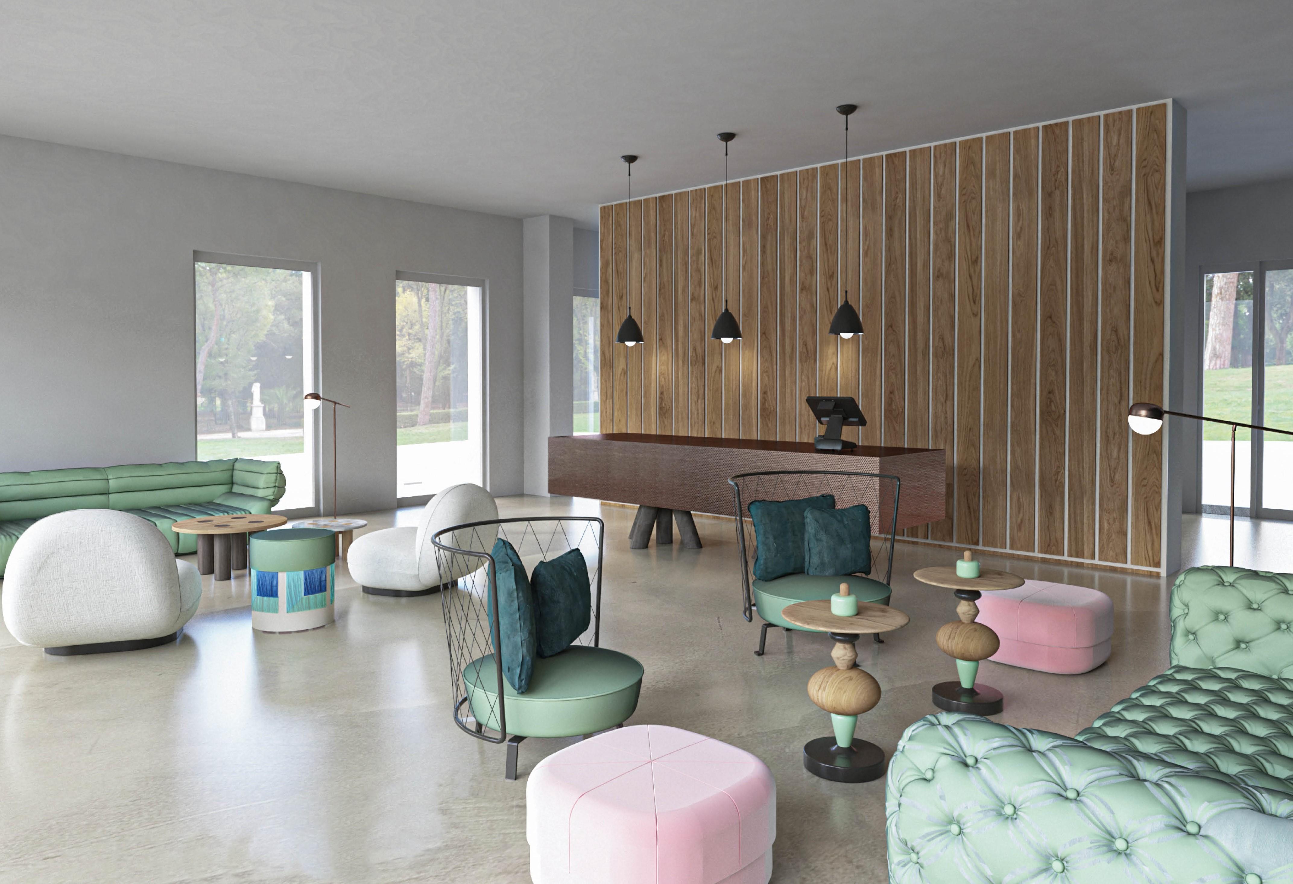 ISGMD - progetto hotel design