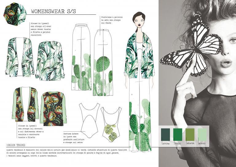 ISGMD - collezione moda stile donna computer-grafica