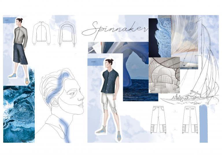 ISGMD - collezione uomo fashion design