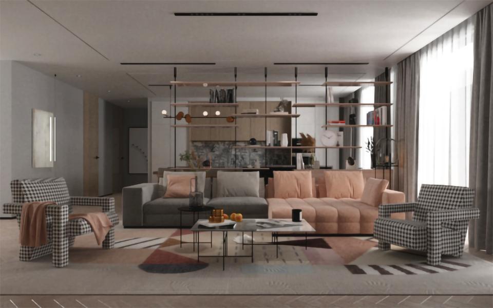 ISGMD - interior design render 3D progetto interni